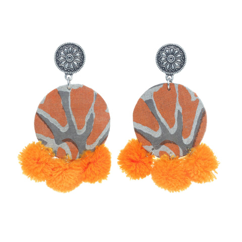 Deewana Pom-Pom Earrings