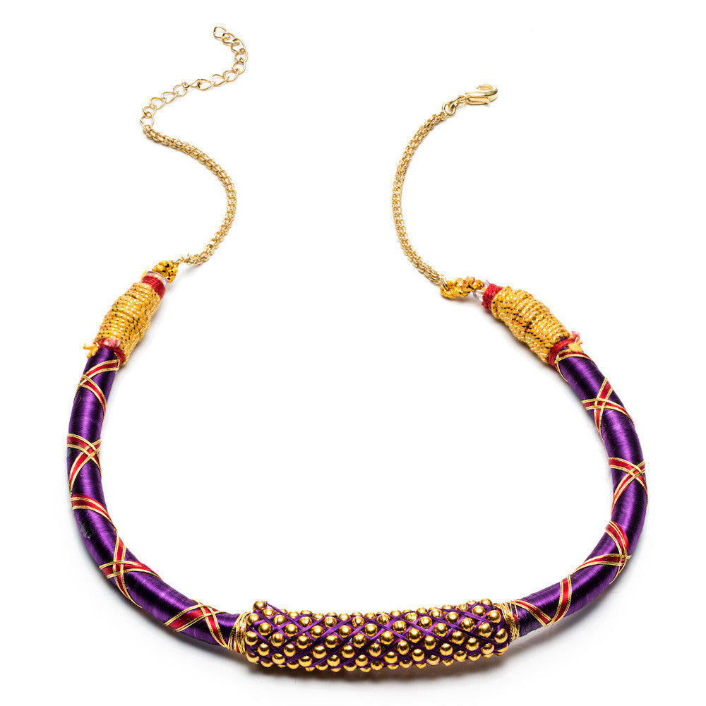Ribbon Nilgiri Necklace