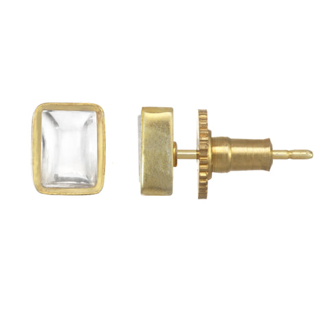 Chamak Square Stud Earrings