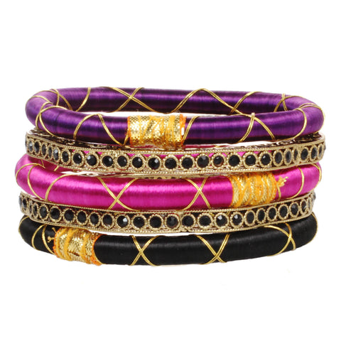The Starlet Bangle Set