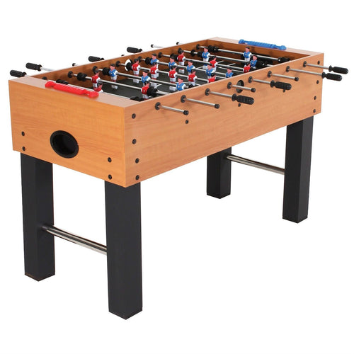 Classic Foosball Table with Abacus Scoring and Internal Ball Return
