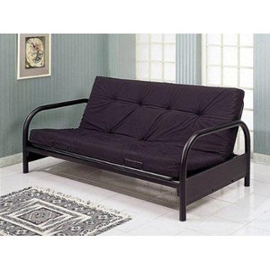Contemporary Black Metal Futon Frame