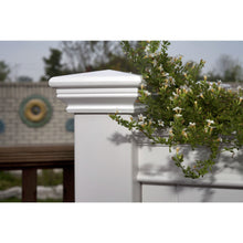 Load image into Gallery viewer, Elevated Planter Raised Grow Bed in White Vinyl