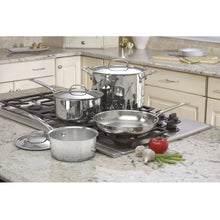 Load image into Gallery viewer, 7-Piece Oven Safe Stainless Steel Cookware Set