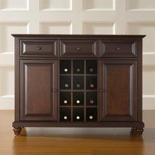 Load image into Gallery viewer, Vintage Mahogany Dining Room Sideboard Console Table Buffet Sever