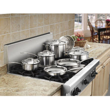 Load image into Gallery viewer, 12-Piece Stainless Steel Professional Oven Safe Cookware Set