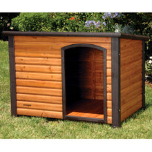 Load image into Gallery viewer, Large 45-inch Outdoor Solid Wood Dog House with Raised Floor