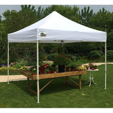 Load image into Gallery viewer, Outdoor Pop Up 10 x 10 Ft Gazebo with White Canopy