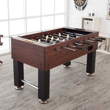 Load image into Gallery viewer, Game Time 55-inch Foosball Table with 4 Soccer Balls