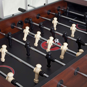 Game Time 55-inch Foosball Table with 4 Soccer Balls