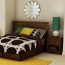 Load image into Gallery viewer, Full / Queen size Contemporary Headboard in Sumptuous Cherry Finish