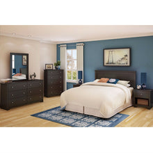 Load image into Gallery viewer, Full / Queen size Headboard in Chocolate Finish - Eco-Friendly
