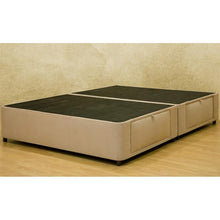 Load image into Gallery viewer, Full size Charcoal Microfiber Upholstered Platform Bed with 4 Storage Drawers
