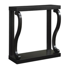 Load image into Gallery viewer, Modern Curved Legs Rich Espresso Console Table