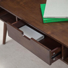 Load image into Gallery viewer, Mid-Century Modern Classic Coffee Table in Walnut Wood Finish