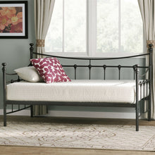 Load image into Gallery viewer, Twin size Metal Daybed in Bronze Finish with Wooden Slats
