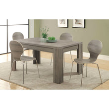 Load image into Gallery viewer, Modern 60 x 36 inch Dark Taupe Rectangular Dining Table