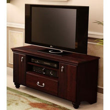 Load image into Gallery viewer, 48-inch Eco-Friendly TV Stand in Dark Mahogany