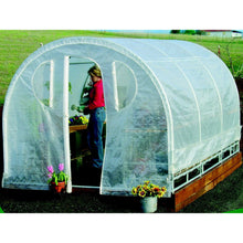 Load image into Gallery viewer, Polytunnel Hoop House Greenhouse (8' x 12')
