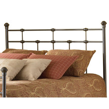 Load image into Gallery viewer, Queen-size Metal Headboard in Hammered Brown Finish