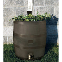 Load image into Gallery viewer, Round Rain Barrel with Built in Planter - 35 Gallon Capacity