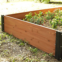 Load image into Gallery viewer, Solid Wood 3-Ft x 3-Ft Raised Garden Bed Planter Box - 12-inch High