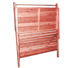 Load image into Gallery viewer, Outdoor Folding Wooden Potting Bench Garden Trellis with Storage Space