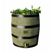 Load image into Gallery viewer, 2-in-1 Rain Barrel Planter