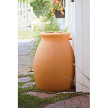 Load image into Gallery viewer, 50 Gallon Rainwater Urn Style Rain Barrel with Spigot