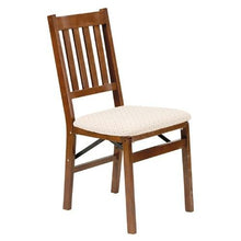 Load image into Gallery viewer, Set of 2 - Folding Dining Chair with Upholstered Seat
