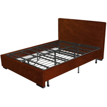 Load image into Gallery viewer, Twin Extra Long Metal Platform Bed Frame with Storage Space