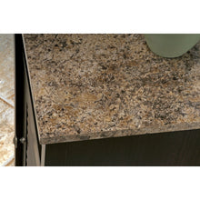 Load image into Gallery viewer, Bathroom Floor Cabinet with Shelf and Faux Granite Top