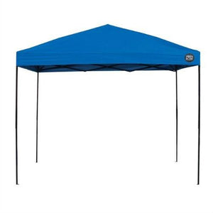 10-Ft x 10-Ft Blue Fabric Top Canopy with Wheeled Carry Bag