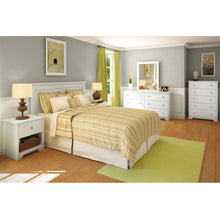 Load image into Gallery viewer, Full / Queen size Headboard in White Finish