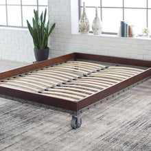 Load image into Gallery viewer, Twin size Heavy Duty Industrial Platform Bed Frame on Casters