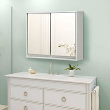 Load image into Gallery viewer, Modern 22 x 18 inch Bathroom Wall Mirror Medicine Cabinet