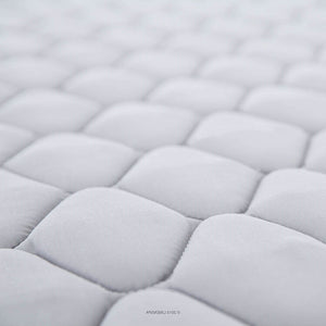 Twin size 6-inch Innerspring Coil Mattress with Quilted Cover - Medium Firm