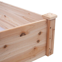 Load image into Gallery viewer, Solid Wood 8 ft x 2 ft Raised Garden Bed Planter