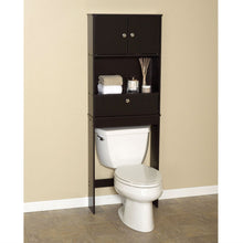 Load image into Gallery viewer, Over the Toilet Bathroom Space Saver Cabinet in Espresso