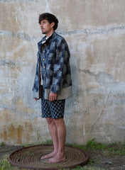 Asymmetric Patchwork Jacket