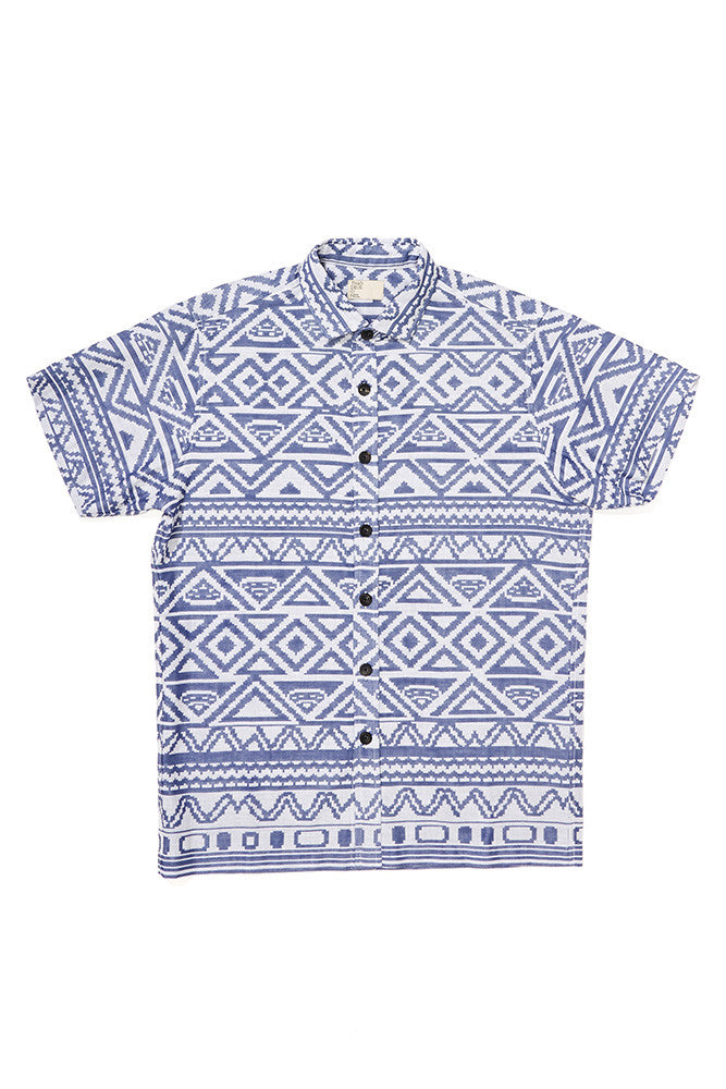 Hanan Geometric Short Sleeve Shirt