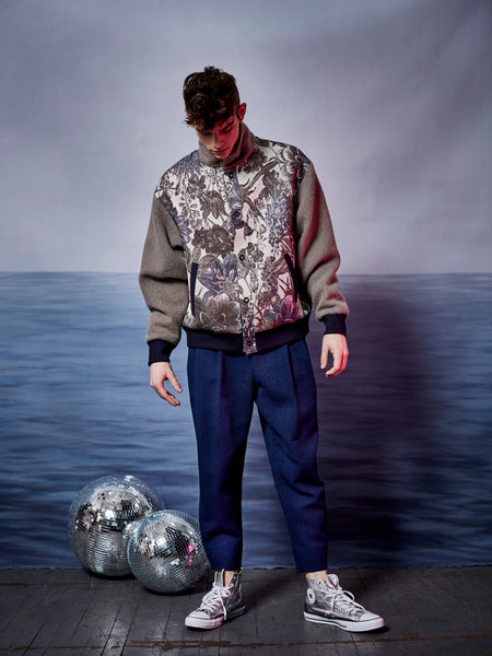 Baroque Floral Bomber