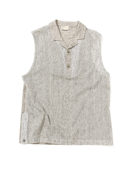 Sleeveless Popover - Grey Mélange