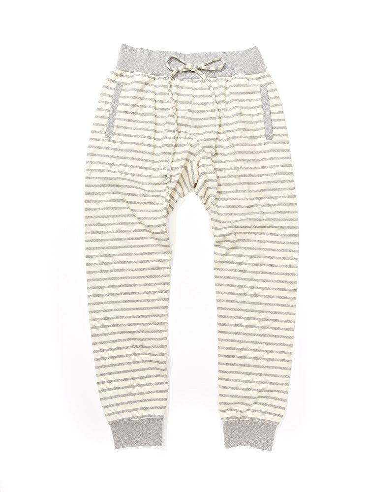 Pipe Pant - Grey Stripe