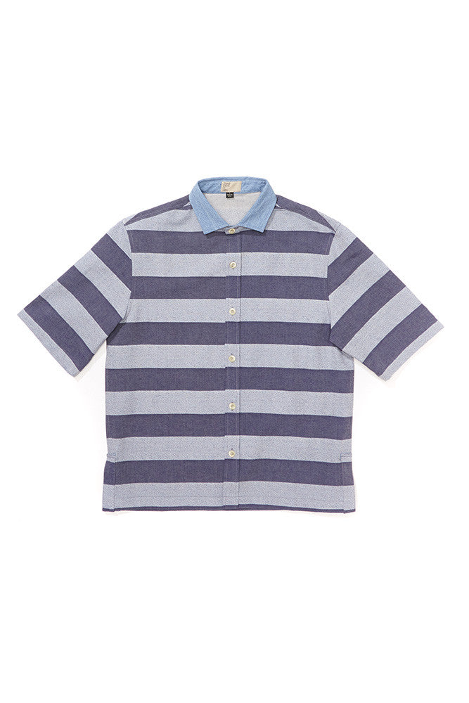 Stripe Play Sleeve Shirt