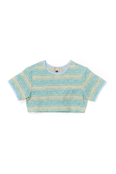 Jacquard Crop Top