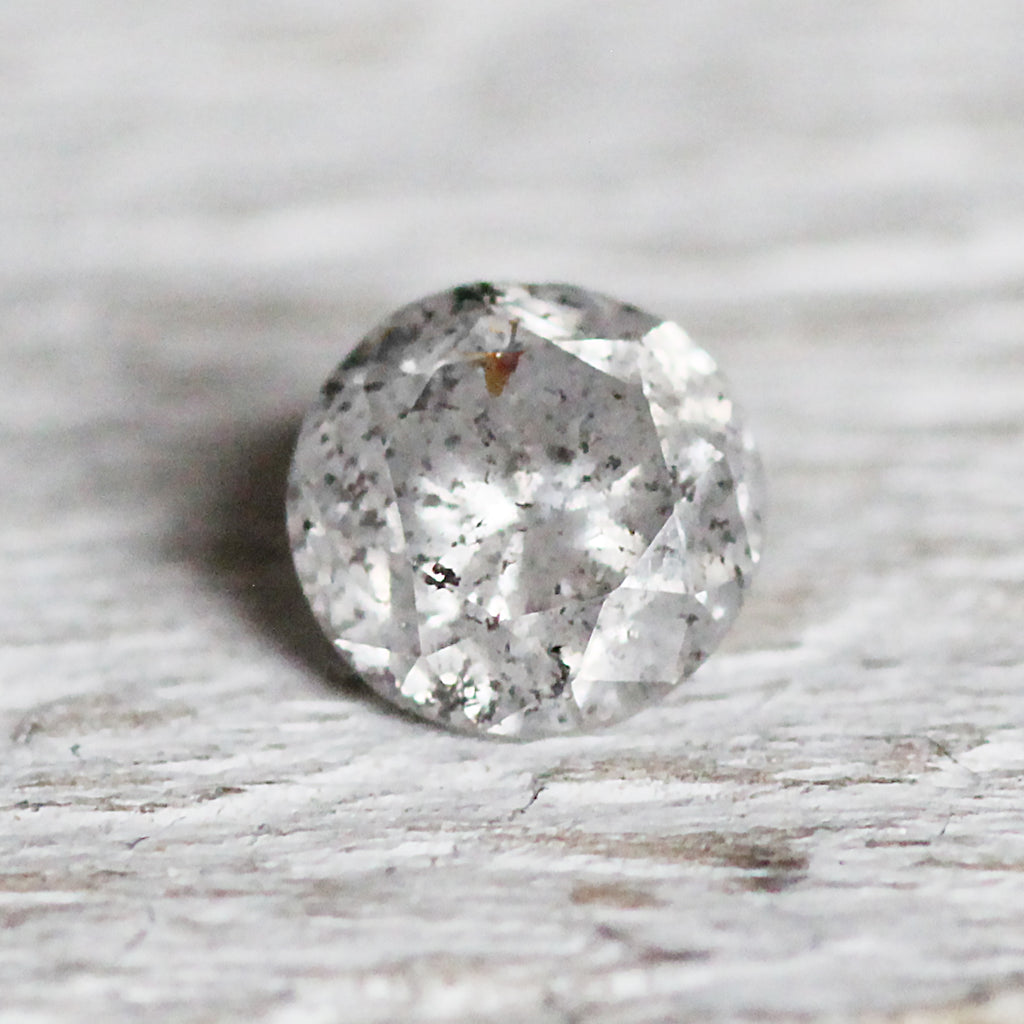 .72 carat light gray celestial diamond for custom work - inventory code: LG72