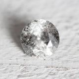 .85ct - Dark Gray Black Celestial Brilliant Round Cut for Custom Work - Inventory code GR85