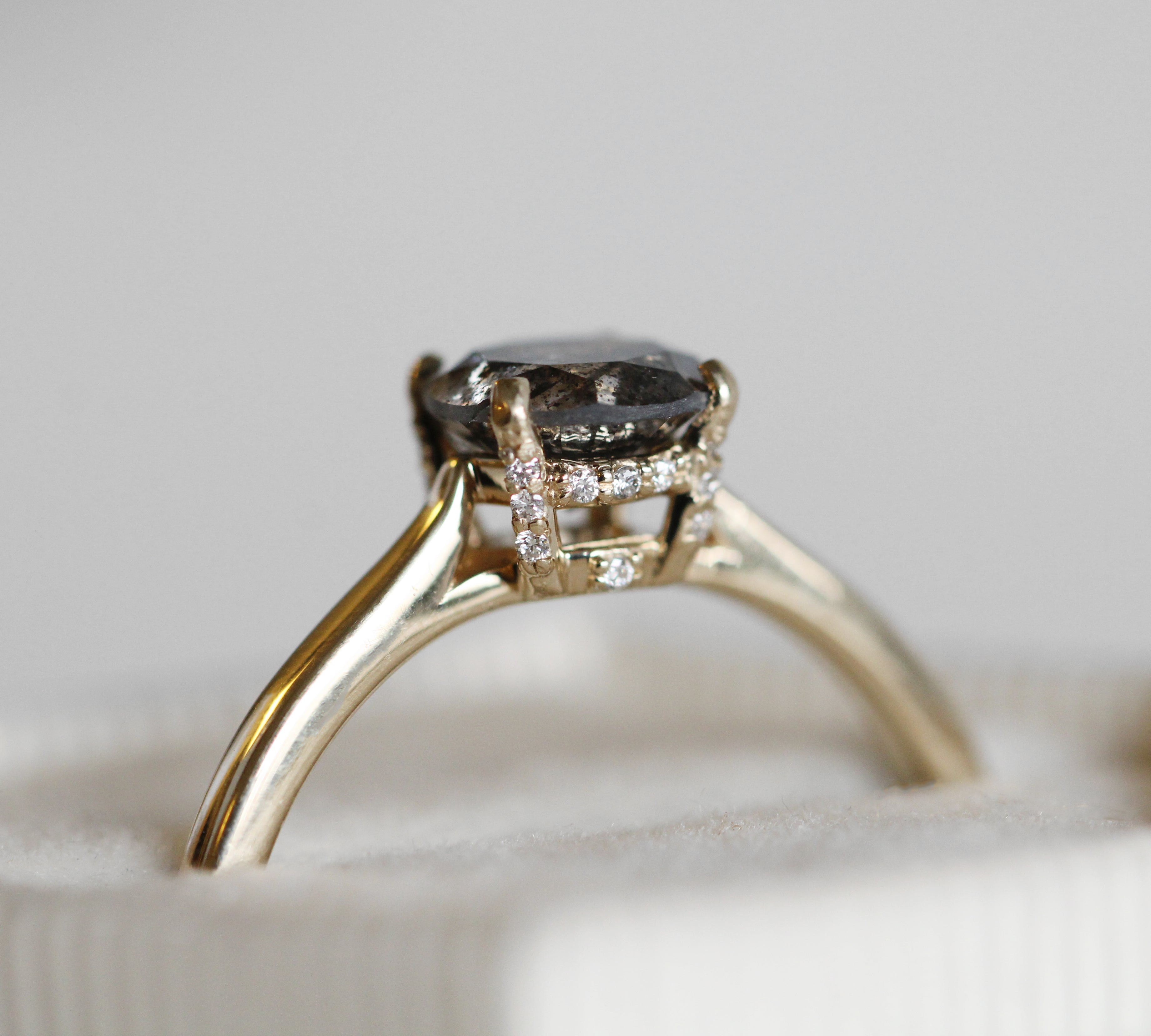 Ameena Setting - Celestial Diamonds ® by Midwinter Co.