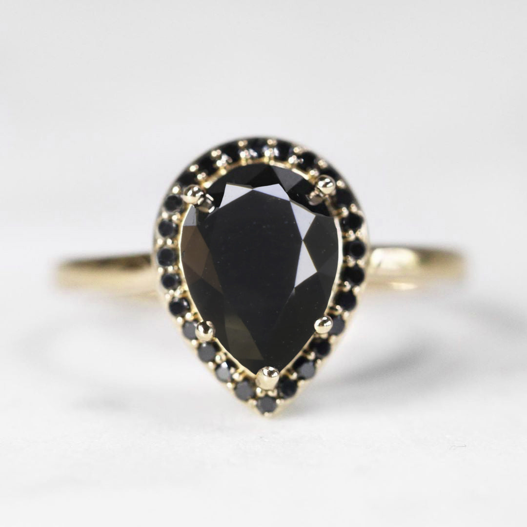 Customize Me! - Coryn Ring - Black Diamonds - Your choice! - Celestial Diamonds ® by Midwinter Co.